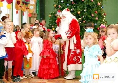 Праздник новый год в детском саду