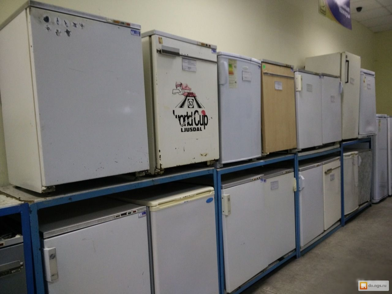 Продам б\\у морозильные лари, морозильные камеры по 30% скидке объём от 300 до 500 литров