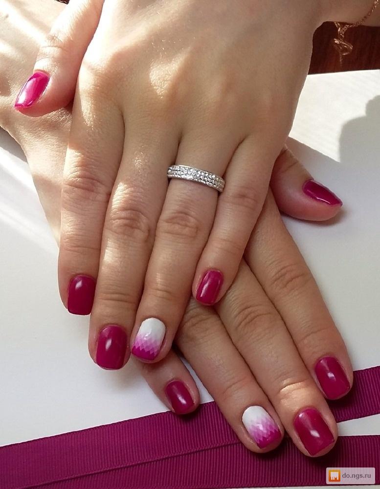 Покрытие ногтей шеллаком дома