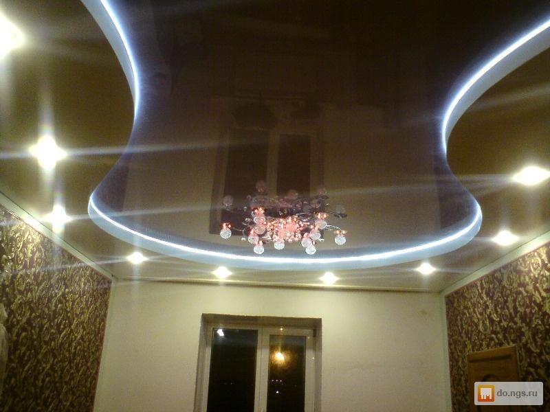 Натяжные потолки красноярск фото