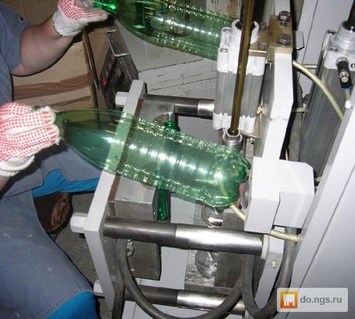 добавлением изготовление пэт бутылок видео воротниковой области шее