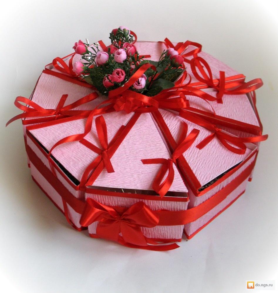 Подарок воспитателю из конфет