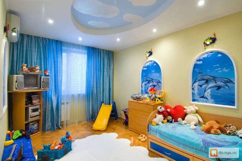 Фото недорогого ремонта детской комнаты