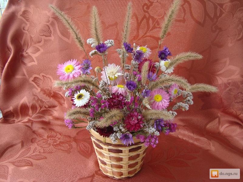 Составление букетов из сухоцветов своими руками 52