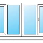 Балкон Пластиковые Одностворчатые профиль алюминиевый 70мм стекло 32мм, Красноярск