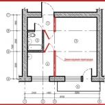 Готовый проект перепланировки квартиры, жилого, нежилого здания. Офиса, Красноярск
