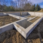 Фундамент, бетонные работы, Красноярск