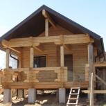 Строительство бань, коттеджей, домиков для барбекю и дачных домов, Красноярск