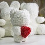 Мишки из роз, Красноярск