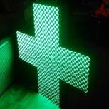крест светодиодный, Красноярск