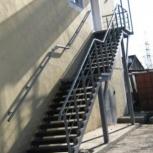 Ремонт помещений, установка лестниц, Красноярск