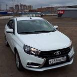 Аренда автомобиля Лада Веста 2017 г.в., Красноярск