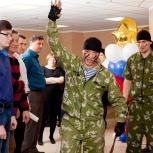 Поздравление с 23 февраля в офисе, Красноярск
