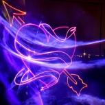 Свадебное лазерное шоу, Красноярск