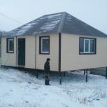 дом из трех модулей, Красноярск