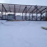 Строительство сборно разборного конструкций гаража, склада, ангара, Красноярск