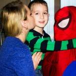 Человек паук на детский праздник, Красноярск