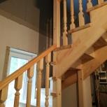 Лестницы деревянные на заказ, Красноярск
