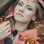 Свадебные, вечерние макияжи и прически на выезд, Красноярск