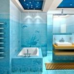 Ванные комнаты, сан узлы, квартиры под ключ, Красноярск