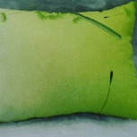 Детская зеленая подушка, Красноярск