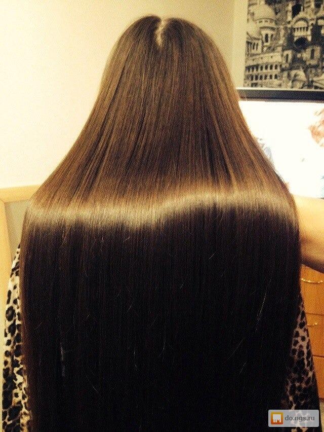 Кератиновое выпрямление волос северный