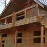 Строительство деревянного дома., Красноярск