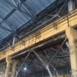 Ремонт подкранового пути мостового крана, Красноярск