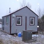Дом для сада из вагончиков, Красноярск
