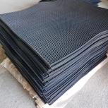 Дражные ковры резиновые с наклонной ячейкой 720х800 мм., Красноярск