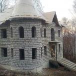 Строительство коттеджей, домов, бань. Брус. Кирпич. Блоки., Красноярск