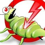 Уничтожение насекомых, клопов, тараканов, муравьев, Красноярск