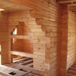 Срубы, отделка, подвалы, деревянные лестницы, Красноярск
