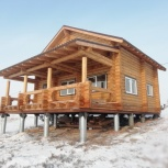 Строительство дома, коттеджа, бани из бруса, Красноярск
