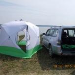 Палатка Куб 2,5х2,5х2,3, 3-х слойна, Красноярск