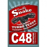 Спиртовые дрожжи Double snake С 24 48 на правом берегу Красноярска, Красноярск