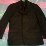 Пиджак мужской чёрный 46 размер, Красноярск