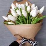 Букет тюльпанов (15 штук) на 8 марта, Красноярск