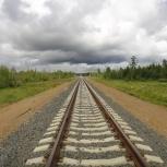 Ремонт железнодорожных путей, Красноярск