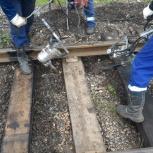 Ремонт железнодорожных подъездных путей, жд тупиков подъёмочный, Красноярск