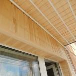 Услуги плотника. Обшивка балконов, лоджий внутри, утепление, Красноярск