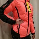 Продам новую куртку женскую производства Франция 48 размер, Красноярск
