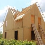 Строительство каркасных домов. каркасное строительство, Красноярск