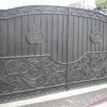 Изготовление ворот металлических, лестниц, ограждений, Красноярск