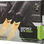 Видеокарта MSI GeForce GTX 1050ti, Красноярск