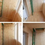 Внутренняя отделка балкона, лоджии, утепление, обшивка, Красноярск