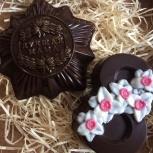 Шоколадные фигурки к 8 марта, Красноярск