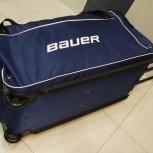 Bauer хоккейный баул спортивная сумка на колёсах. Доставка, Красноярск