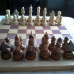 Шахматы деревянные (доска 40*40 см), Красноярск