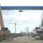 Монтаж, демонтаж кранов мостовых, козловых, кран балок, Красноярск